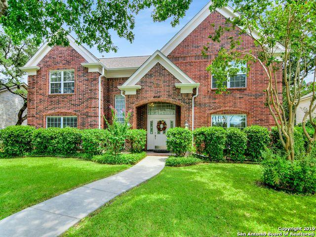 4414 Shavano Cross, San Antonio, TX 78230 (MLS #1399620) :: The Gradiz Group