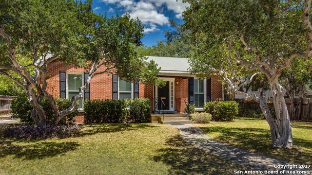115 W Elmview Pl, Alamo Heights, TX 78209 (MLS #1399694) :: Tom White Group