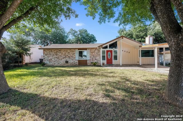 4038 Flint Hill St, San Antonio, TX 78230 (MLS #1399714) :: Alexis Weigand Real Estate Group