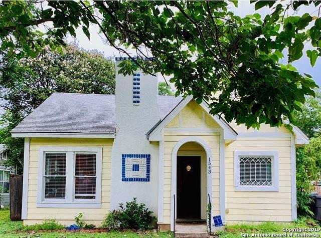1543 W Rosewood Ave, San Antonio, TX 78201 (MLS #1400279) :: Exquisite Properties, LLC