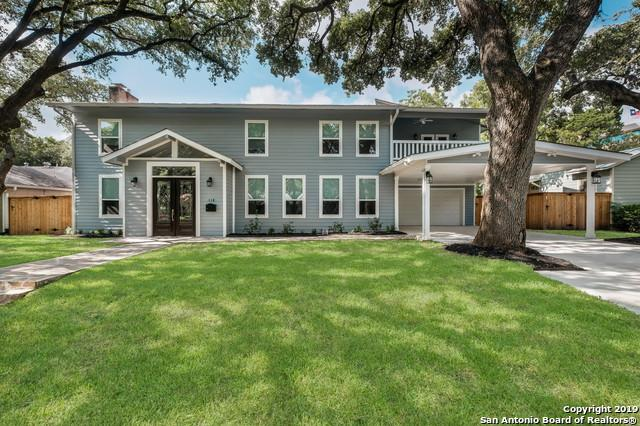 110 Brightwood Place, San Antonio, TX 78209 (MLS #1400685) :: Alexis Weigand Real Estate Group