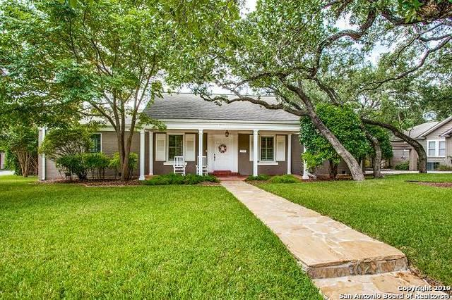 302 Lamont Ave, Alamo Heights, TX 78209 (MLS #1402118) :: River City Group
