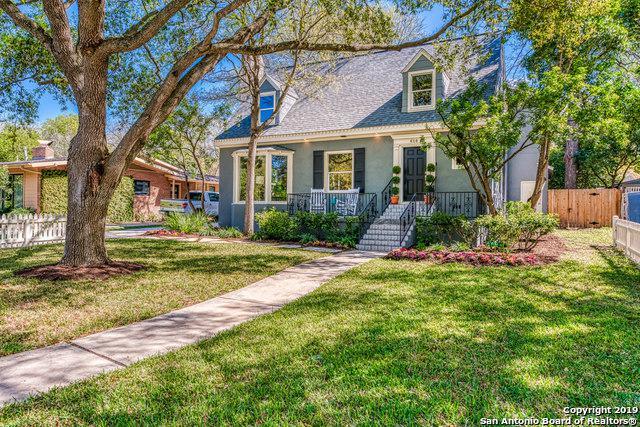 414 Alamo Heights Blvd, Alamo Heights, TX 78209 (MLS #1402196) :: River City Group