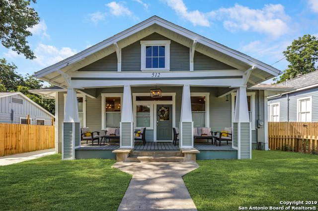 512 E Mistletoe Ave, San Antonio, TX 78212 (MLS #1402268) :: Exquisite Properties, LLC