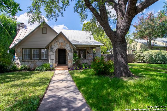 221 W Rosewood Ave, San Antonio, TX 78212 (MLS #1402807) :: The Mullen Group | RE/MAX Access