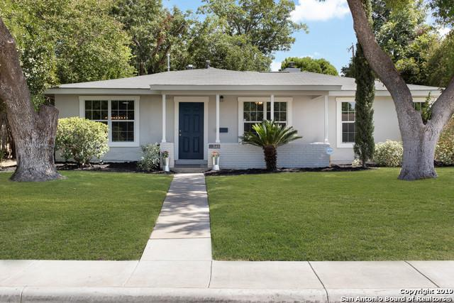 345 W Mandalay Dr, San Antonio, TX 78212 (MLS #1404812) :: BHGRE HomeCity