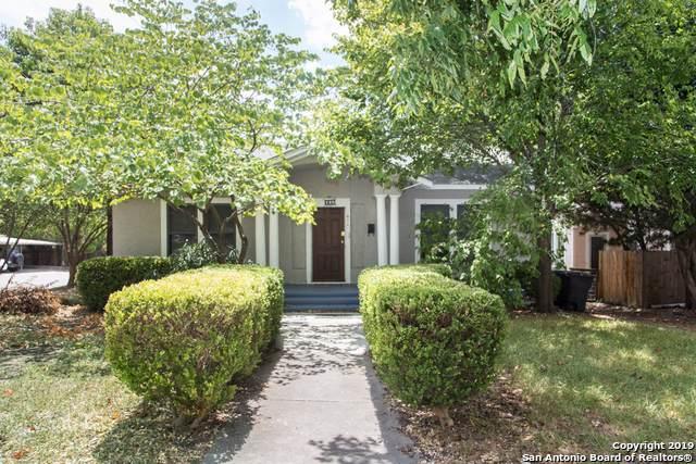 602 Fulton Ave, San Antonio, TX 78212 (MLS #1408601) :: Exquisite Properties, LLC