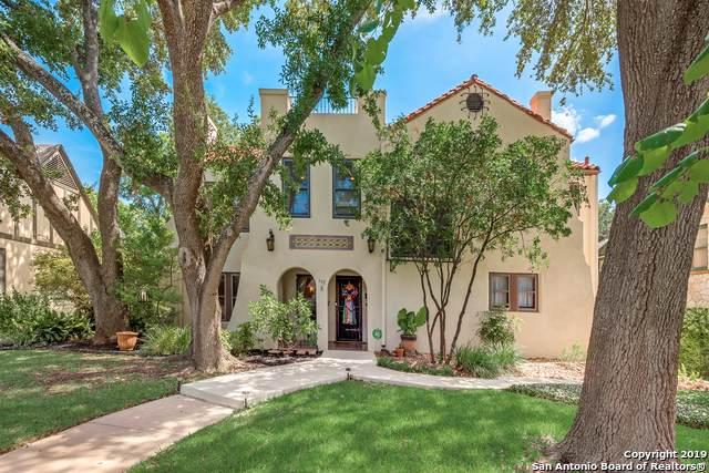 112 W Ridgewood Ct, San Antonio, TX 78212 (MLS #1409307) :: BHGRE HomeCity