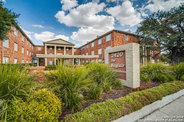 2420 Mccullough Ave #122, San Antonio, TX 78212 (MLS #1410308) :: The Mullen Group | RE/MAX Access