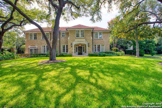 715 Contour Dr, San Antonio, TX 78212 (MLS #1410774) :: Alexis Weigand Real Estate Group