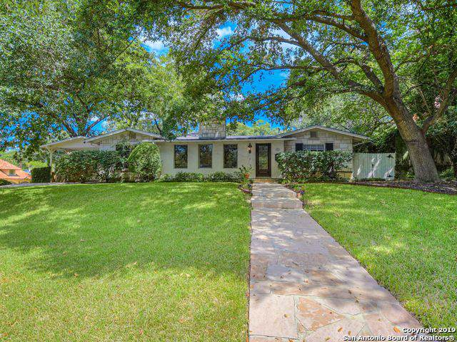 201 Ridgemont Ave, San Antonio, TX 78209 (MLS #1411235) :: Alexis Weigand Real Estate Group