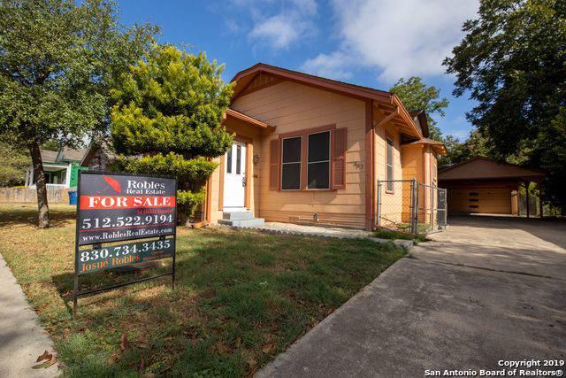 863 Steves Ave, San Antonio, TX 78210 (MLS #1412001) :: BHGRE HomeCity