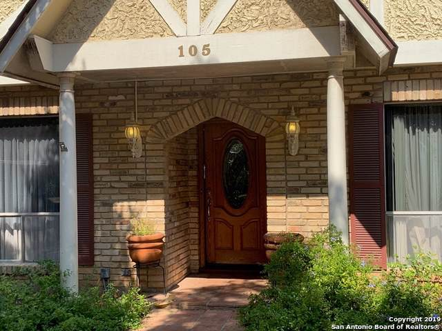 105 Amerson Ln, Castle Hills, TX 78213 (MLS #1414678) :: The Gradiz Group