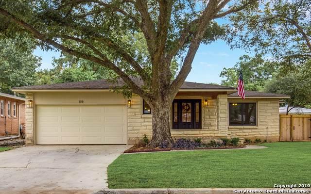119 Northridge Dr, San Antonio, TX 78209 (MLS #1415084) :: Alexis Weigand Real Estate Group