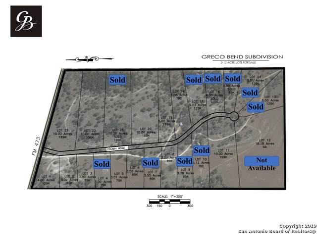 LOT 23 Greco Bend, Boerne, TX 78006 (MLS #1417503) :: The Castillo Group