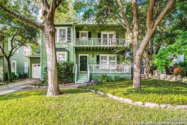 119 Evans Ave, Alamo Heights, TX 78209 (MLS #1418807) :: The Gradiz Group