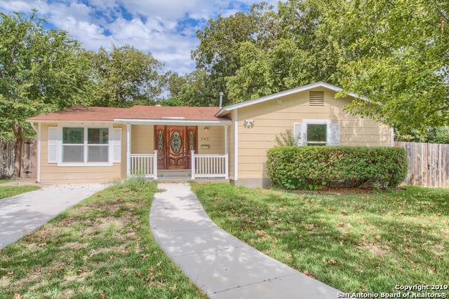 243 Brees Blvd, San Antonio, TX 78209 (MLS #1418870) :: Alexis Weigand Real Estate Group