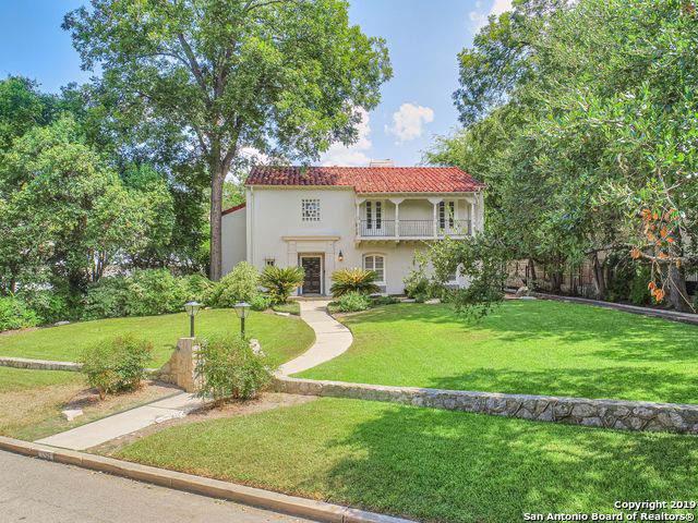 150 Park Dr, San Antonio, TX 78212 (MLS #1419631) :: Exquisite Properties, LLC