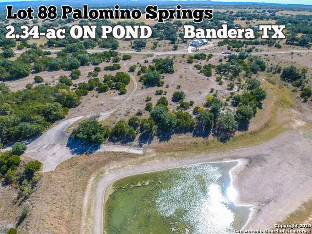 LOT 88 Palomino Spgs, Bandera, TX 78003 (MLS #1421013) :: Alexis Weigand Real Estate Group