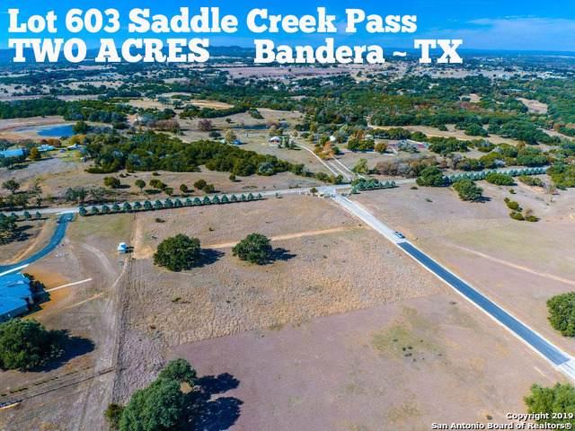 LOT 603 Saddle Creek Pass, Bandera, TX 78003 (MLS #1425797) :: BHGRE HomeCity