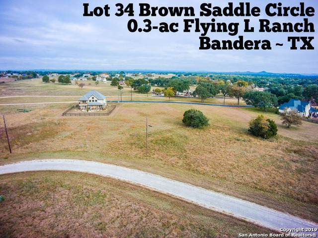 LOT 35 Brown Saddle, Bandera, TX 78003 (#1426408) :: The Perry Henderson Group at Berkshire Hathaway Texas Realty