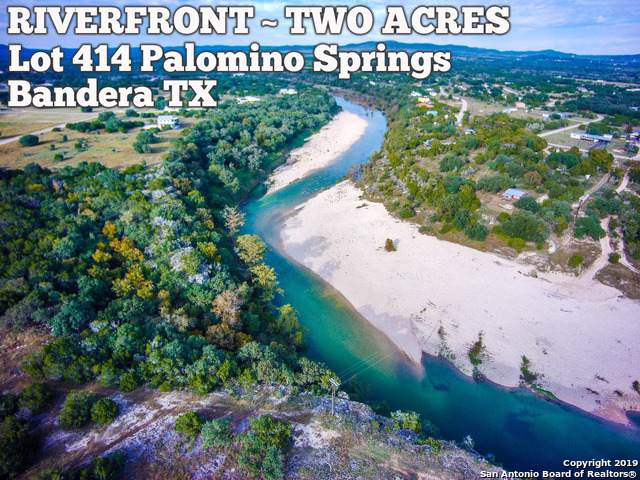 LOT 414 Palomino Spgs, Bandera, TX 78003 (MLS #1427273) :: RE/MAX Prime