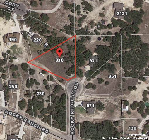 930 Rocky Ridge Loop, Canyon Lake, TX 78133 (MLS #1427730) :: Exquisite Properties, LLC