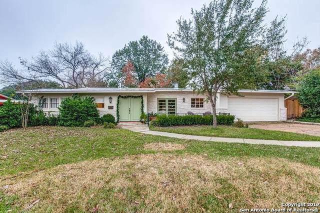 1116 Wiltshire Ave, Terrell Hills, TX 78209 (MLS #1428465) :: The Gradiz Group