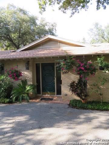 2907 Oakleaf Dr, San Antonio, TX 78209 (#1428589) :: 10X Agent Real Estate Team