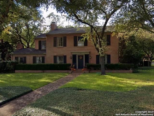 123 Paseo Encinal St, Olmos Park, TX 78212 (MLS #1429058) :: Erin Caraway Group