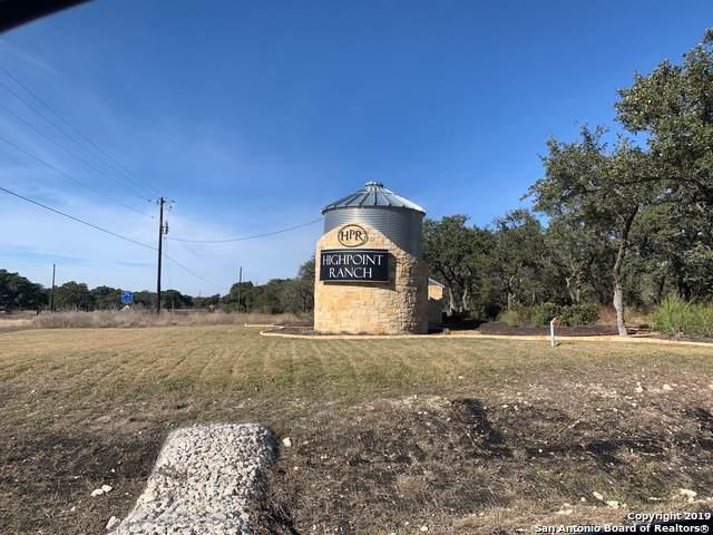 LOT 85 High Point Ranch, Comfort, TX 78006 (MLS #1430492) :: NewHomePrograms.com LLC