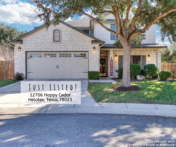 12706 Happy Cedar, Helotes, TX 78023 (MLS #1430860) :: Alexis Weigand Real Estate Group