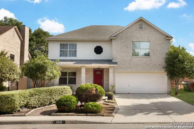 2826 Redriver Hill, San Antonio, TX 78259 (MLS #1431916) :: NewHomePrograms.com LLC