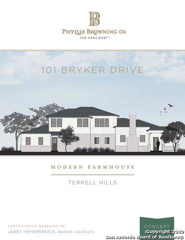 101 Bryker Dr, Terrell Hills, TX 78209 (MLS #1432131) :: Alexis Weigand Real Estate Group