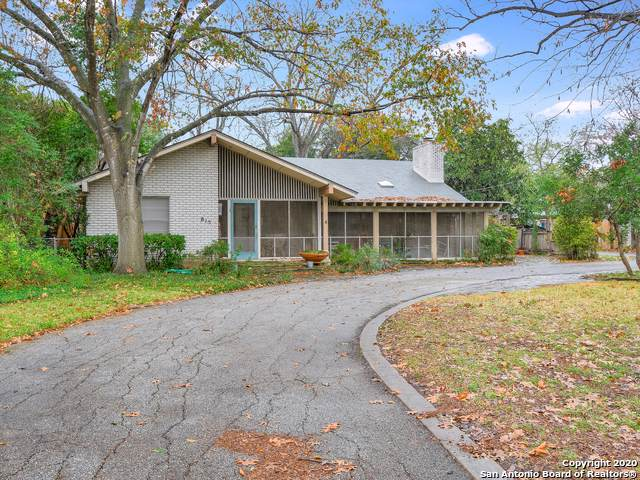 815 River Rd, San Antonio, TX 78212 (MLS #1433677) :: Alexis Weigand Real Estate Group