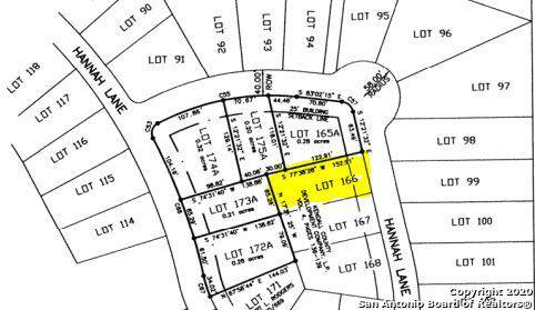 LOT 166R Hannah Lane, Boerne, TX 78006 (MLS #1433963) :: NewHomePrograms.com LLC