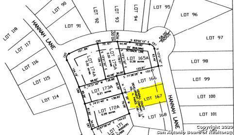 LOT 167R Hannah Lane, Boerne, TX 78006 (MLS #1433964) :: NewHomePrograms.com LLC