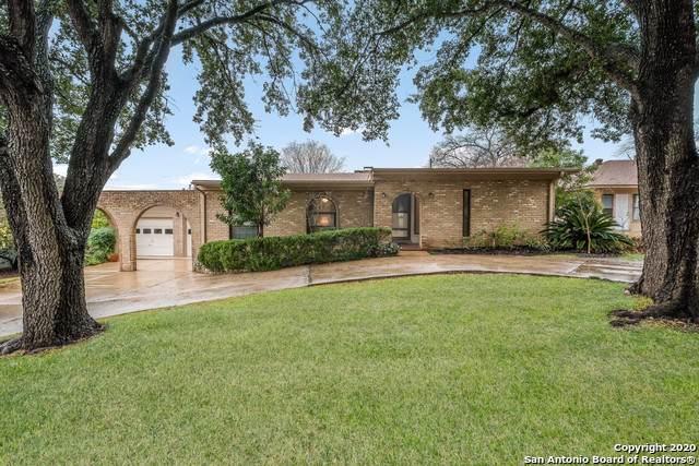923 Patricia, San Antonio, TX 78213 (MLS #1435082) :: Alexis Weigand Real Estate Group