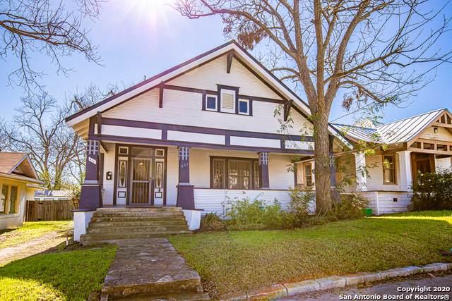822 W Agarita Ave, San Antonio, TX 78212 (MLS #1435380) :: The Losoya Group