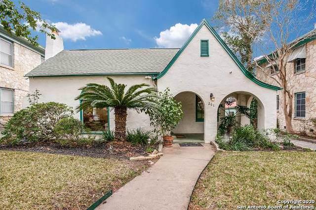 261 E Rosewood Ave, San Antonio, TX 78212 (MLS #1436662) :: Exquisite Properties, LLC