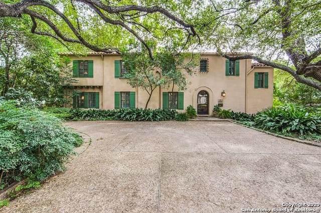 110 Paseo Encinal St, Olmos Park, TX 78212 (MLS #1436702) :: BHGRE HomeCity