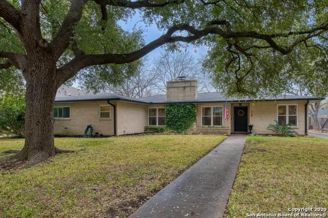 110 Woodcrest Dr, San Antonio, TX 78209 (MLS #1438697) :: HergGroup San Antonio