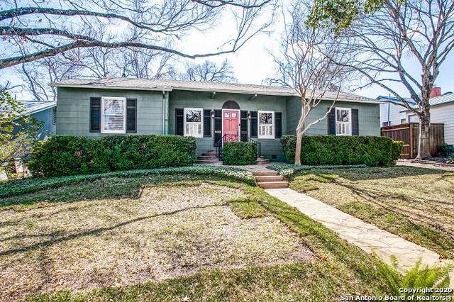 232 E Edgewood Pl, San Antonio, TX 78209 (MLS #1438734) :: Alexis Weigand Real Estate Group