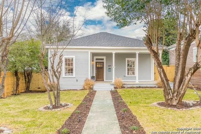 607 Burnet St, San Antonio, TX 78202 (MLS #1439319) :: Alexis Weigand Real Estate Group