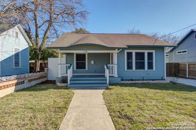 118 Leopold St, San Antonio, TX 78210 (MLS #1439424) :: The Gradiz Group
