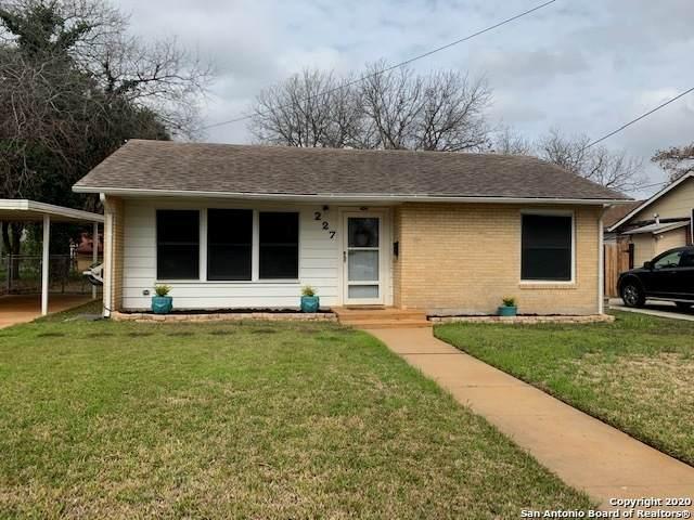 227 Parchman, San Antonio, TX 78214 (MLS #1439998) :: Reyes Signature Properties