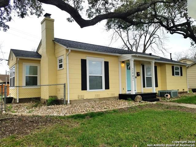 2402 W Mistletoe, San Antonio, TX 78228 (MLS #1440007) :: Reyes Signature Properties