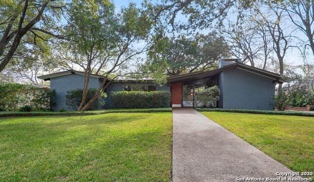 214 Oak Park Dr, San Antonio, TX 78209 (MLS #1440469) :: Vivid Realty