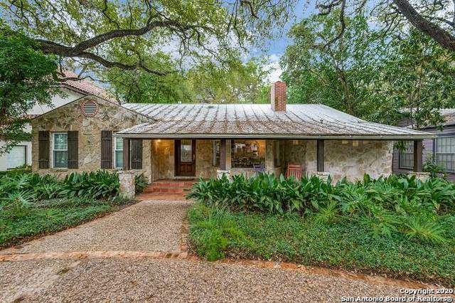 228 Tuxedo Ave, Alamo Heights, TX 78209 (MLS #1446750) :: Tom White Group
