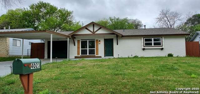 4023 Goshen Pass St, San Antonio, TX 78230 (MLS #1446903) :: EXP Realty